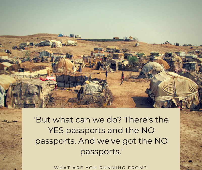 The YES passports and the NO passports